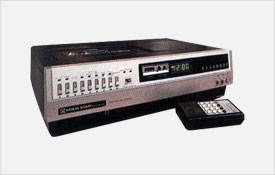 Goldstar Co., Ltd. develops the first electronic VCR in Korea